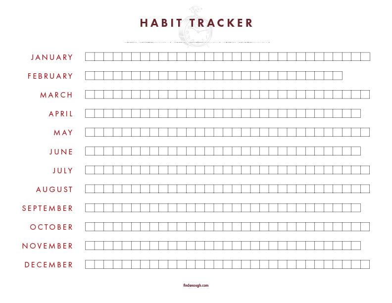 printable-habit-tracker